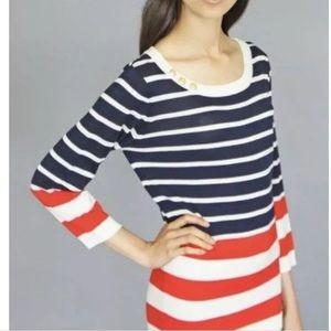 Karen walker Anthropologie mod nautical sweater XS